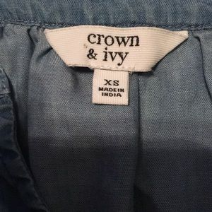 crown & ivy Shirts & Tops - Crown & Ivy Junior Tunic.